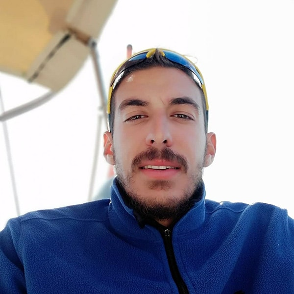 Alexandros Filippou - Skipper at Ionian Catamarans